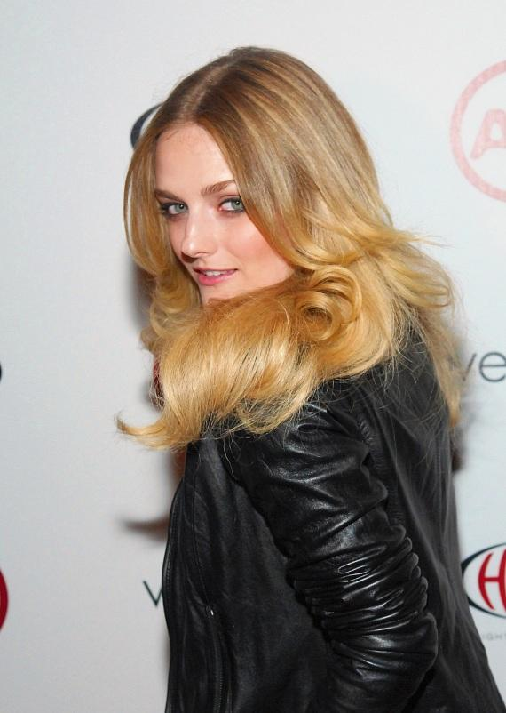 Lydia Hearst at Haze Nightclub in Las Vegas