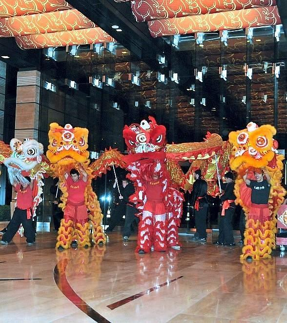 M Resort Spa Casino Celebrates Lunar New Year with a Traditional Lion and Dragon Dance Feb. 9