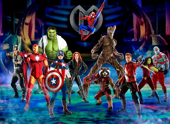 """Marvel Universe Live! Announces New Show, """"Age of Heroes"""", with Guardians of The Galaxy and Marvel Super Heroes and Villains at Thomas & Mack Center July 27-30"""