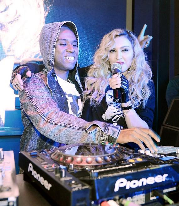 Madonna Official Rebel Heart After Party at Marquee