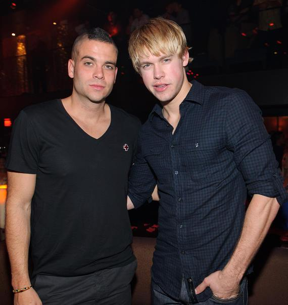 Mark Salling and Chord Overstreet at TAO