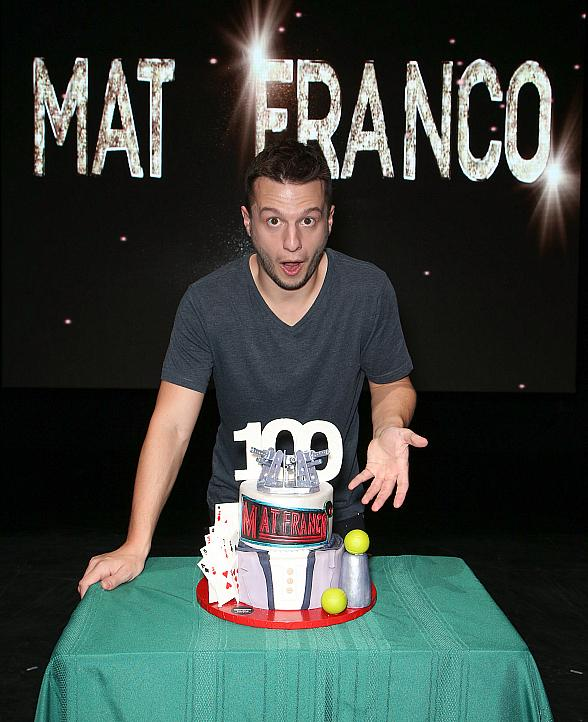 Mat Franco – Magic Reinvented Nightly Celebrates 100th Performance at The LINQ Hotel & Casino in Las Vegas