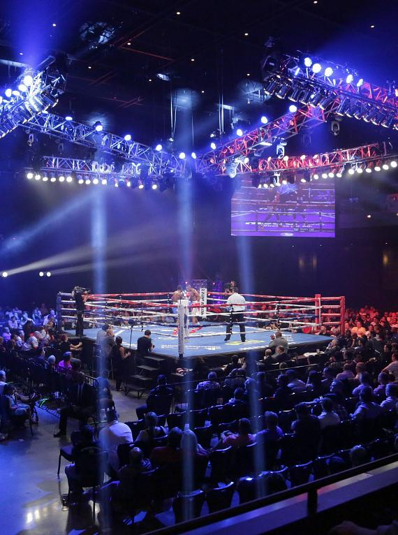 Metro PCS Friday Night Knockout on truTV at The Cosmopolitan