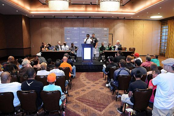 Fight Nights Press Conference at The Cosmopolitan