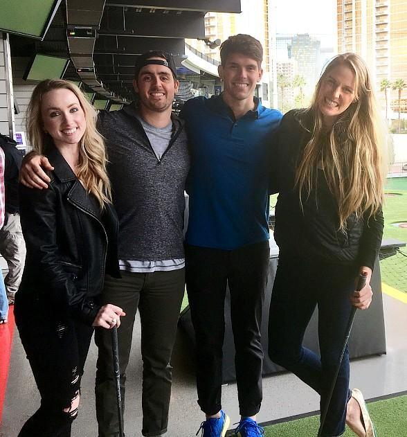 Olympic Swimmer Missy Franklin Visits Topgolf Las Vegas