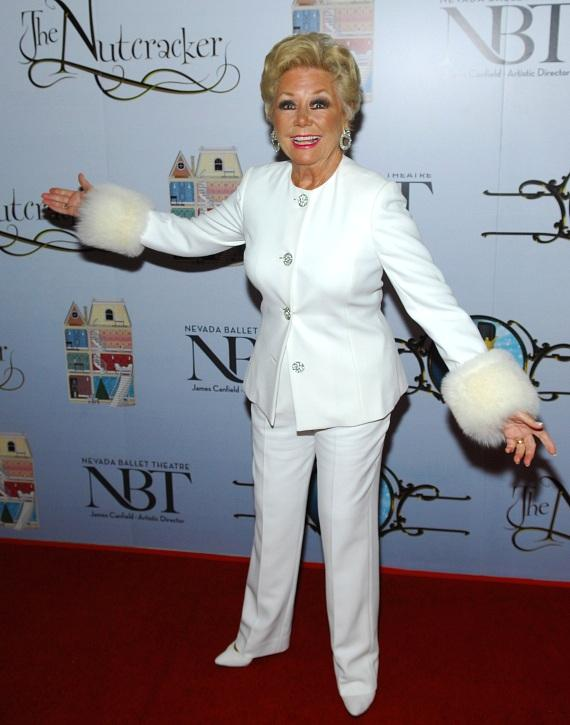 Mitzi Gaynor attends premiere of Nevada Ballet Theater's The Nutcracker