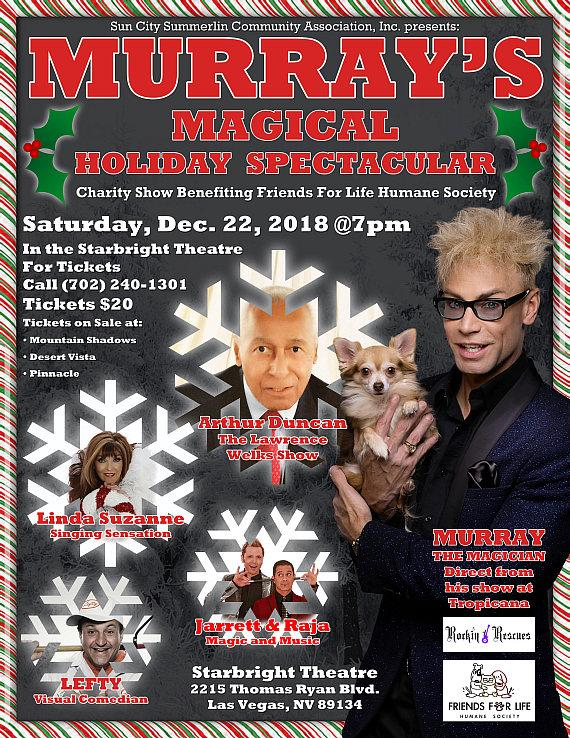 Murray's Magical Holiday Spectacular
