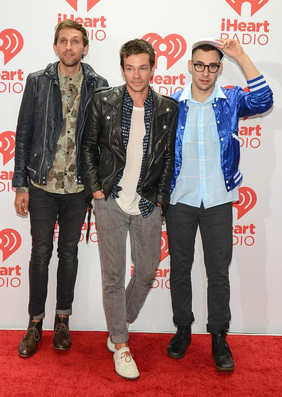 Andrew Dost, Nate Ruess and Jack Antonoff of FUN