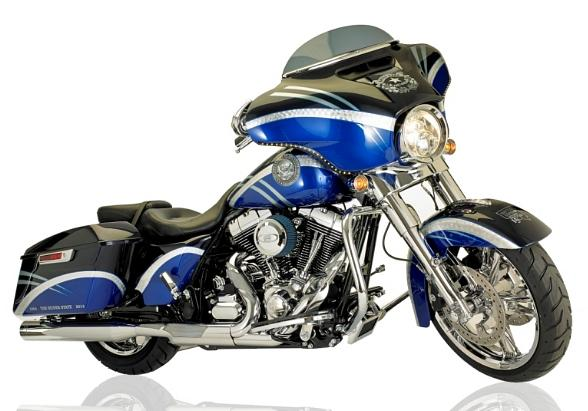 Nevada Sesquicentennial-themed motorcycle
