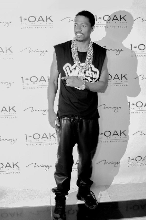 Nick Cannon at 1 OAK at The Mirage on Tuesday, March 25