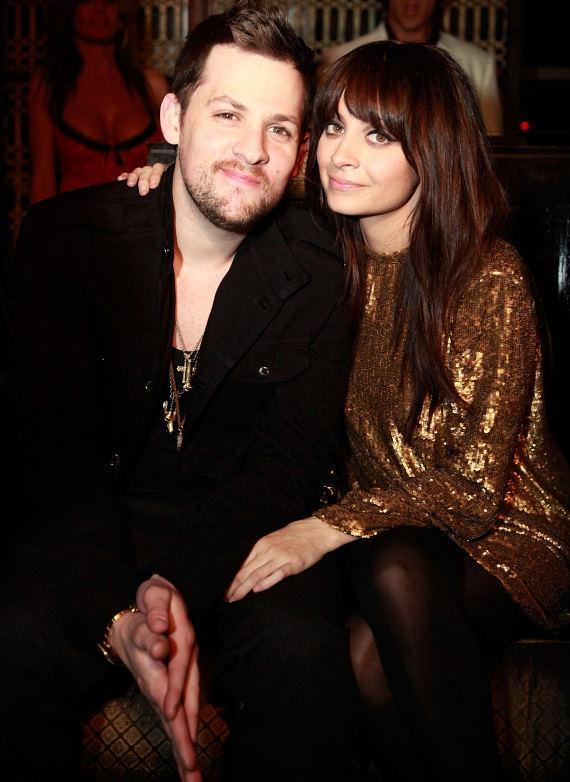 Nicole and Joel at LAVO at the Palazzo's New Year's Eve celebration