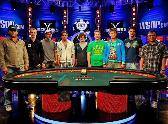 Final Table Set at 2011 World Series of Poker Main Event