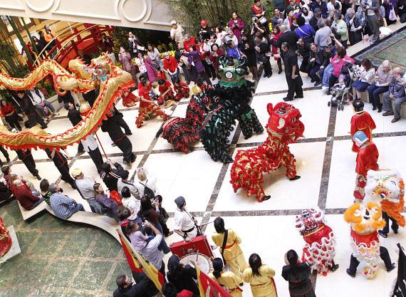 The Venetian and The Palazzo kick off Chinese New Year with Dragon Dance