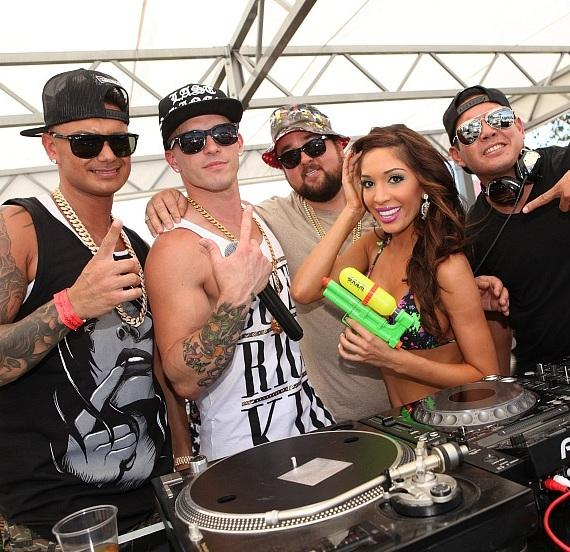 are farrah and pauly d dating