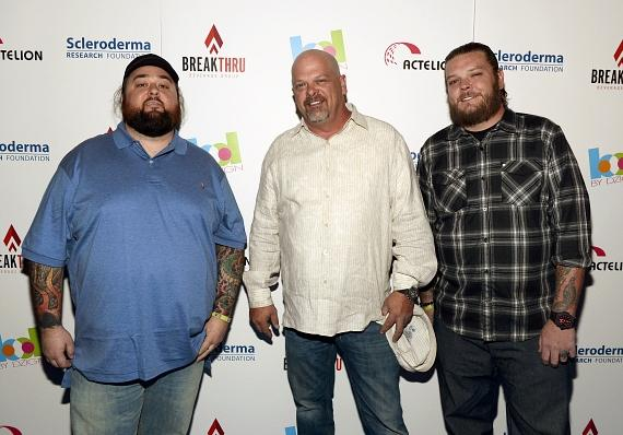 "Pawn Stars Chumlee, Richard Harrison and Corey ""Big Hoss"" Harrison"