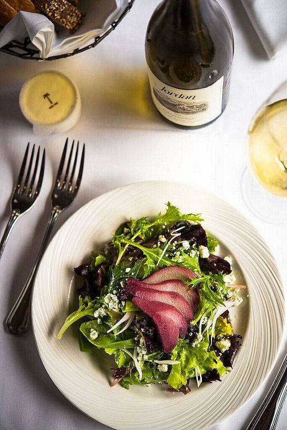 Poached Pear Salad at The Palm