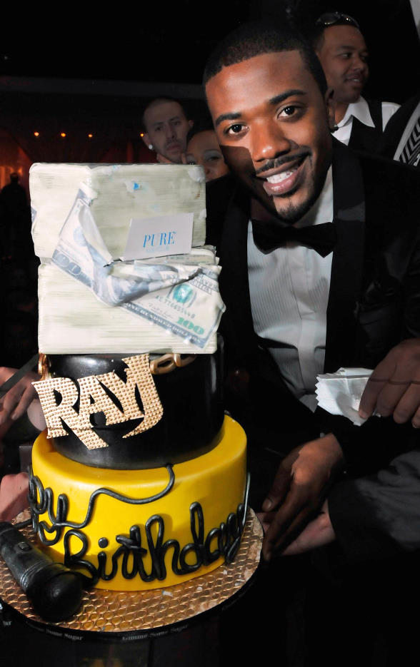 Ray J celebrates his 30th Birthday at PURE Nightclub