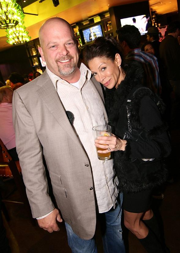 Rick Harrison with Heather Bednarczyk