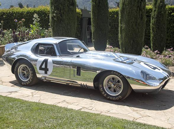 """""""Secret Weapon"""" Shelby Cobra Daytona Coupe to Return in Limited Production Series"""