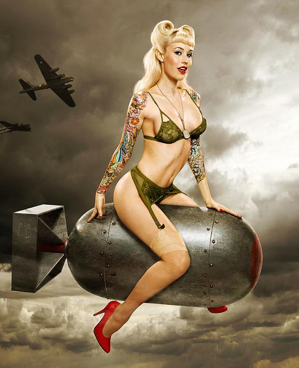 International Pin Up Model Sabina Kelley to Guest Star in Stratosphere's PIN UP