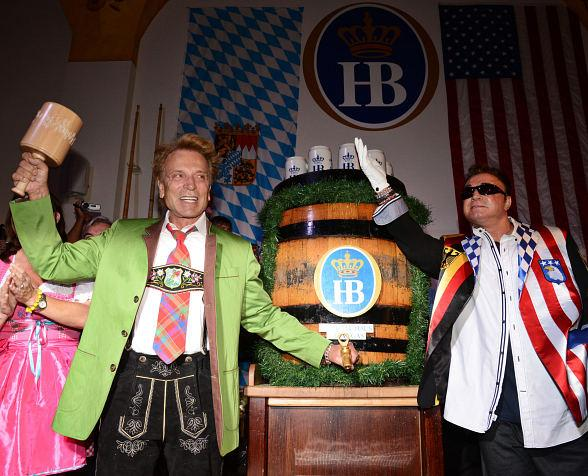 Siegfried & Roy Kick Off 10th Annual Oktoberfest at Hofbräuhaus Las Vegas