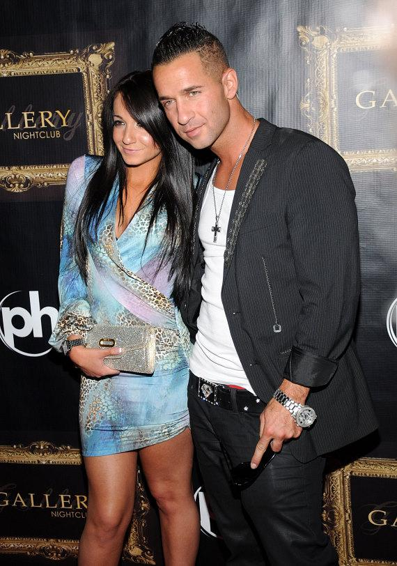 """Mike """"The Situation"""" Sorrentino on the red carpet at Gallery Nightclub"""