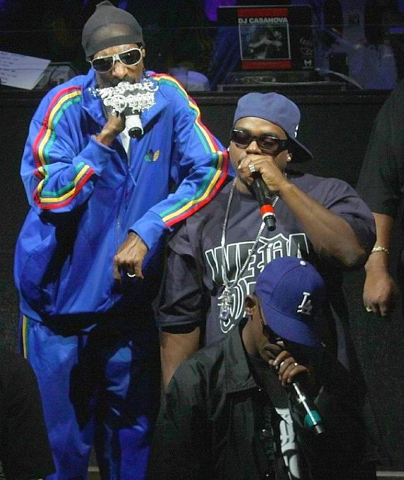 Snoop Dog with Kurupt from the Dogg Pound