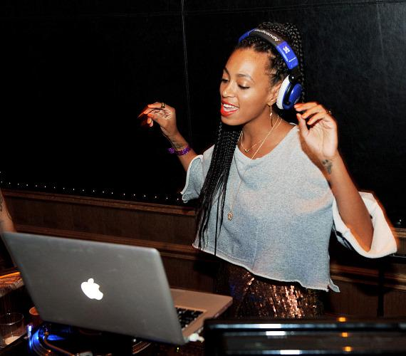 Solange Knowles in The Library at Marquee
