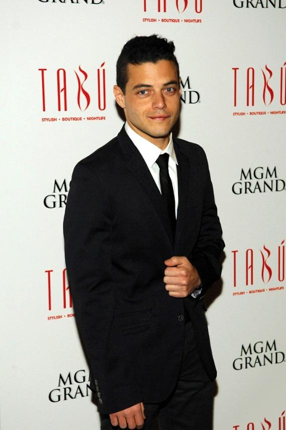 Rami Malek on Carpet at Tabú