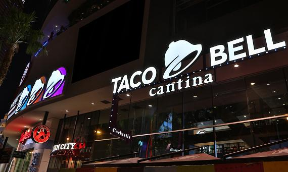 Taco Bell Unveils Flagship Restaurant in Las Vegas and the Taco Bell Experience of the Future