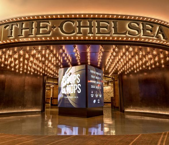 Hoops & Hops returns to The Chelsea at The Cosmopolitan of Las Vegas March 17–19