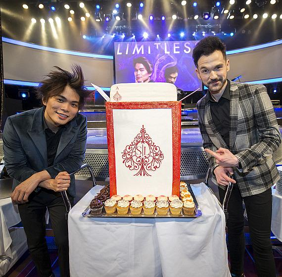 The Mirage Shin Lim and Colin Cloud Opening Night Cake Presentation
