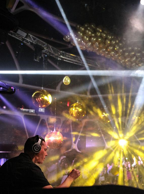 Tiesto's Gold Party at Hakkasan Las Vegas