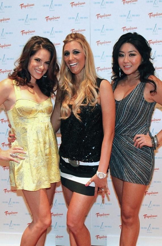 Tiffany Michelle, Vanessa Rousso and Maria Ho