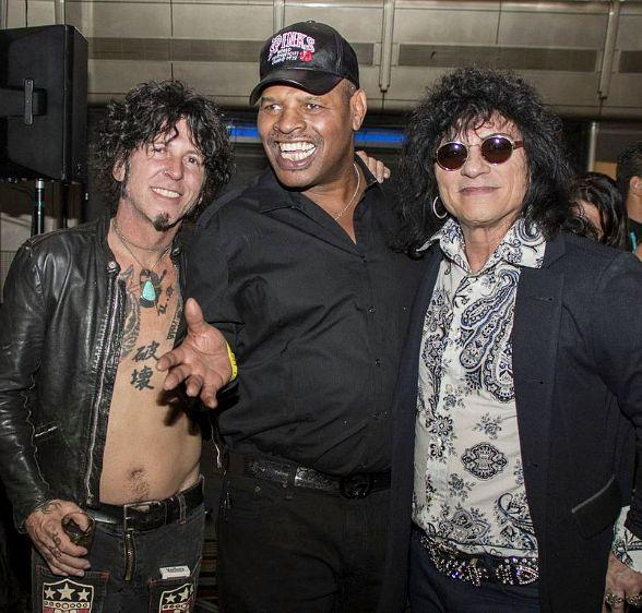 Tracii Guns, Leon Spinks and Paul Shortino