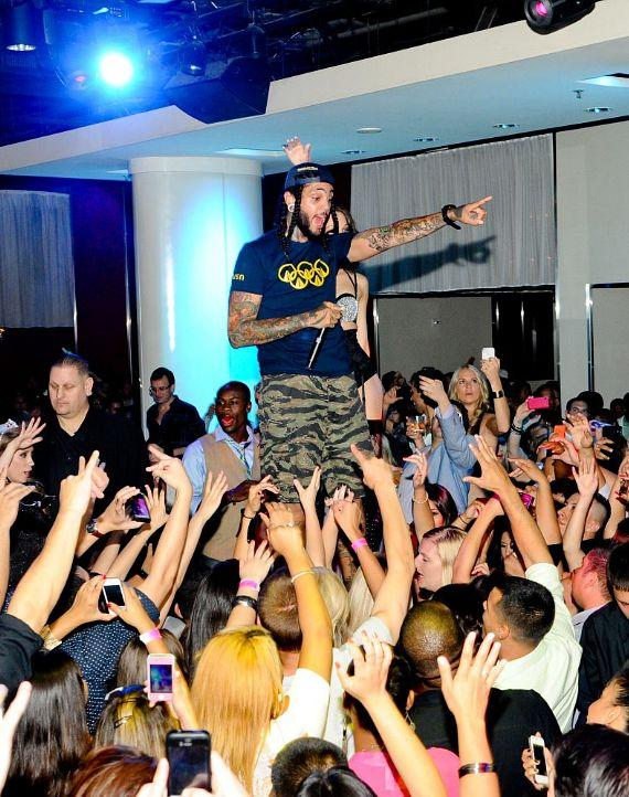 Travie McCoy Performs Live at PURE Nightclub for Labor Day Weekend Party