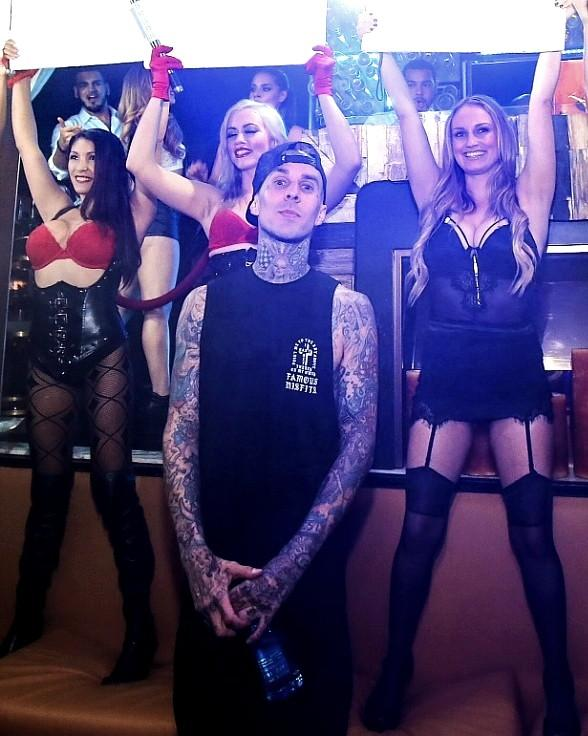 Hyde Bellagio Launches First Residency with Travis Barker Tuesday, Aug. 18