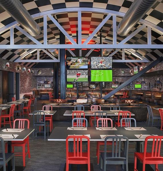 NBA Playoffs a Slam Dunk at Umami Burger, Beer Garden & Sports Book with All-Inclusive Packages