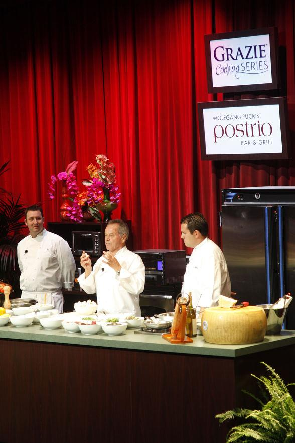 Wolfgang Puck Hosts Special Cooking Demonstration at Venetian Showroom