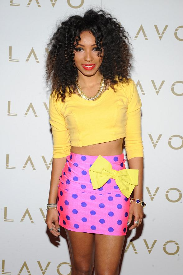 Wynter Gordon on LAVO red carpet