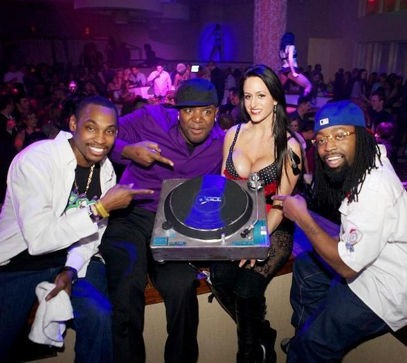 Ying Yang Twins Perform at Club Nikki in Tropicana Las Vegas