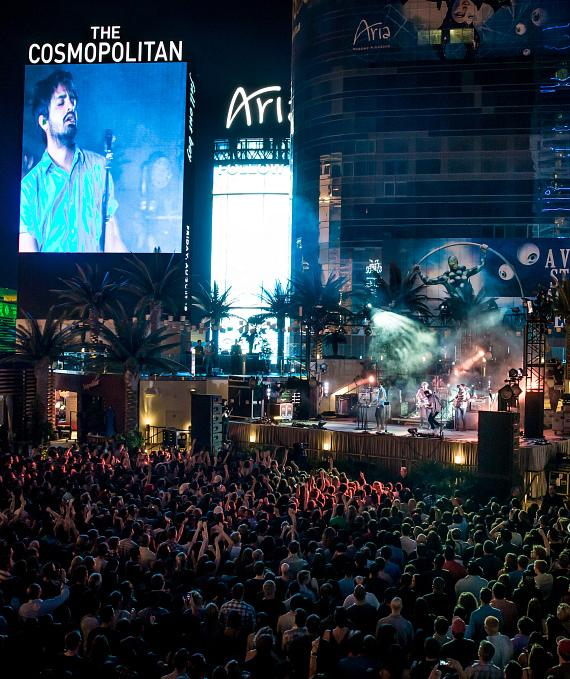 Young The Giant performs at The Chelsea at The Cosmopolitan of Las Vegas