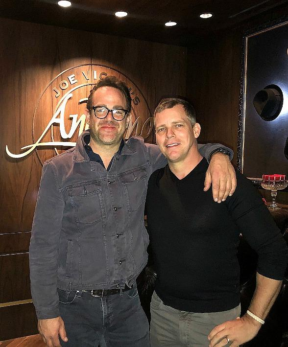 """Prison Break"" Star Paul Adelstein Gets a Weekend Taste of Downtown Vegas"