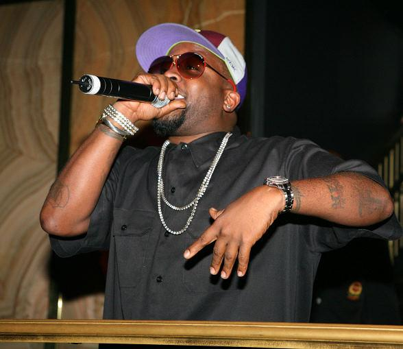 Big Boi from Outkast at Body English's Sunday School