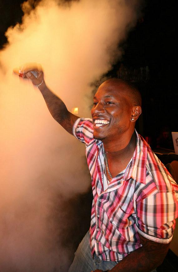 Tyrese Gibson performs at Body English