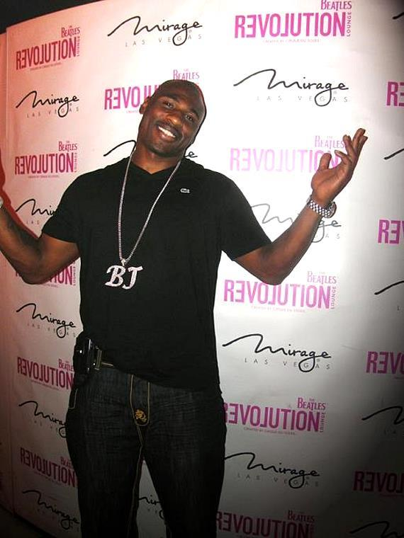 Brandon Jacobs dined at STACK and then hit Revolution Lounge