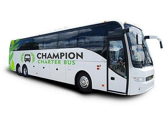 Champion Charter Bus Las Vegas Offers Charter Bus and Minibus Rentals