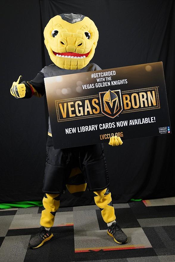 Las Vegas-Clark County Library District Celebrates Library Lovers' Month With New Vegas Golden Knights Library Card