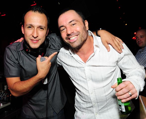 DJ Vice and Joe Rogan at TAO