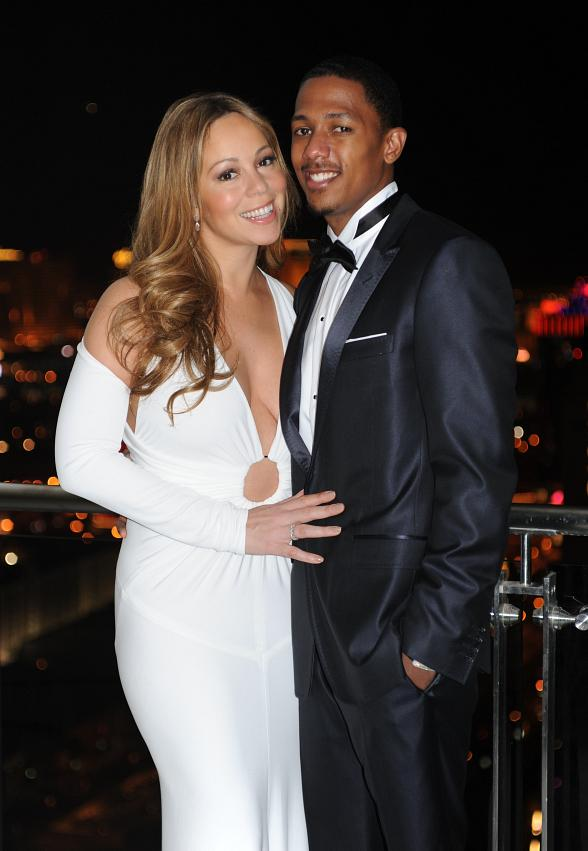 Nick Cannon & Mariah Carey celebrate one-year anniversary at Palms